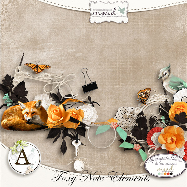 """Foxy Note"" by Angel's Designs"