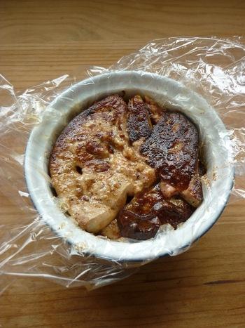 Terrine de foie gras poêlé au pain d'épices