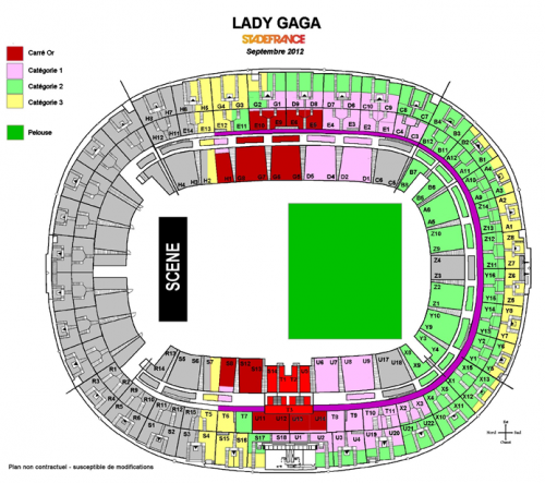 BORN THIS WAY BALL : FRANCE