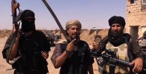 Des combattants de l'État islamique (capture d'écran Vice News).