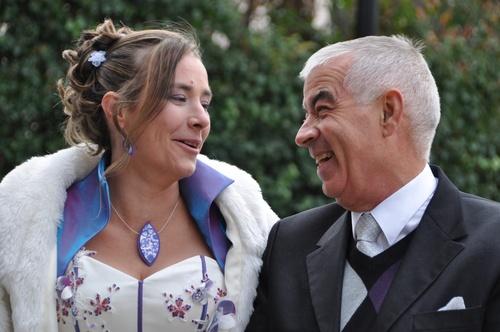 Le bijou de la mariée...