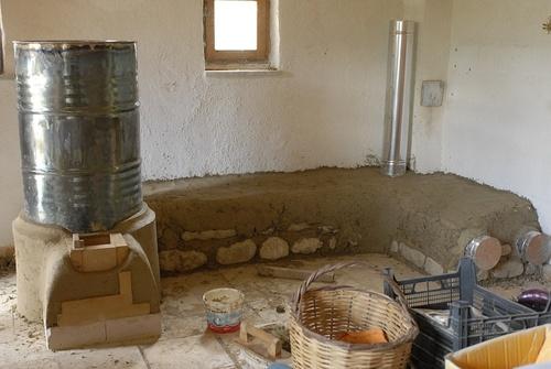 Rocket stove, Second part
