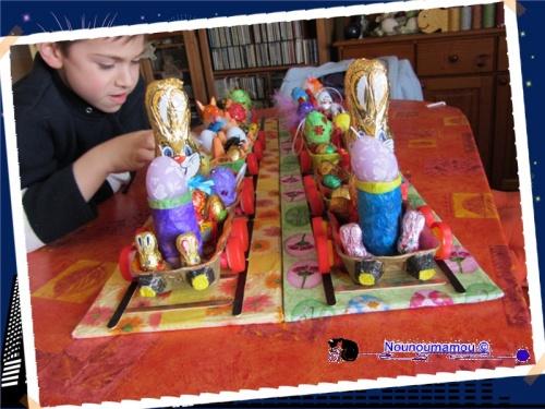 Train pour Pâques