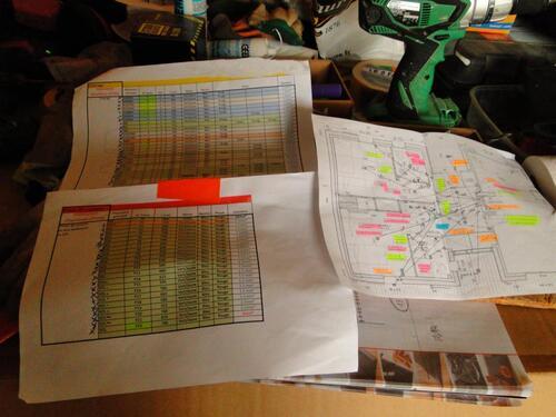 préparation des câbles électiques