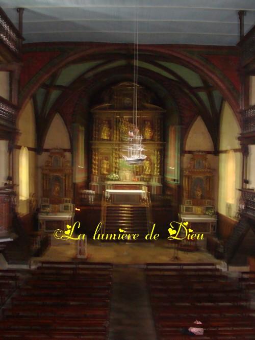 Ascain : église Notre-Dame de l'Assomption