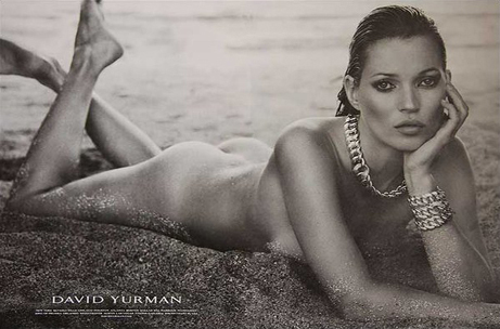 Kate Moss nue