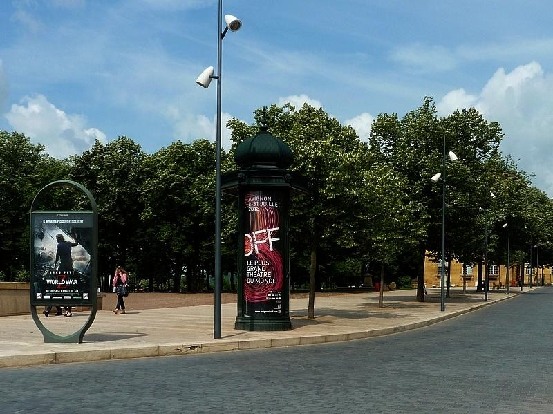 Les fontaines de Metz / La Nymphe de la République...