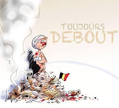 La Belgique pleure tout ce sang versé mais ne se laisse pas intimider