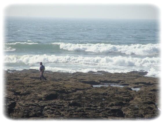 Préfailles Pointe St Gildas jour de grande marée