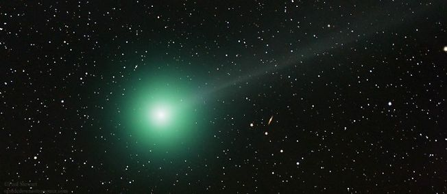 La comète C/2014 Q2 Lovejoy photographiée fin décembre.