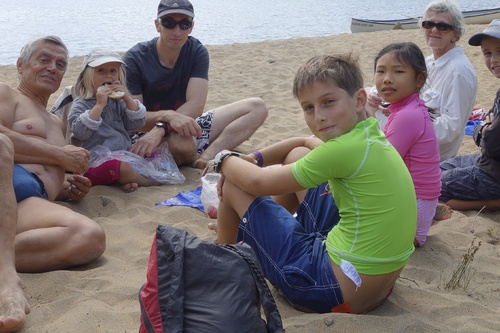 19 au 23 août - Camping dans le parc de la Mauricie