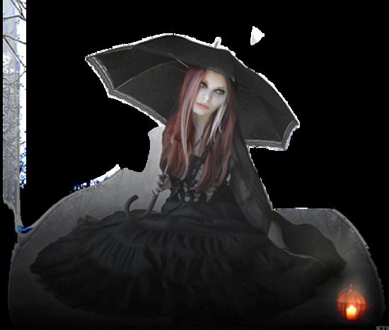 Femme gothique etc / 8