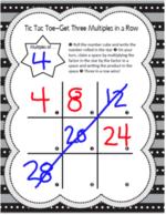 Ateliers en multiplications (apprendre les tables, les réviser, techniques)