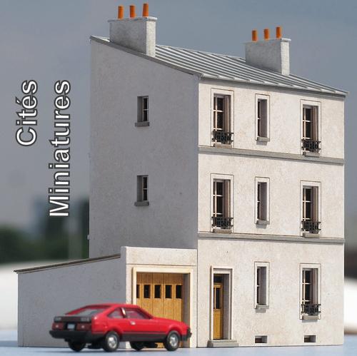 Cités Miniatures - Une maison de ville
