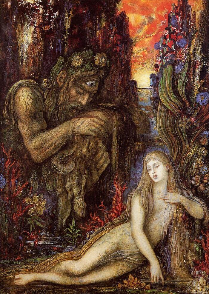 Moreau /1/    le mystique