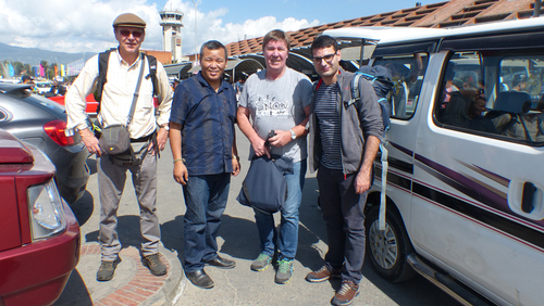 Suivi de la mission au Népal