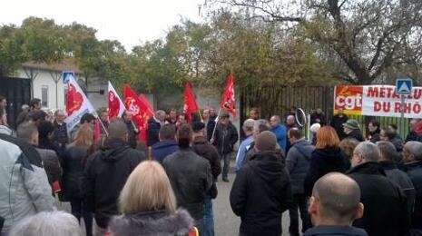 Licencié pour un arrêt-maladie, le délégué CGT de JTEKT riposte par la solidarité militante
