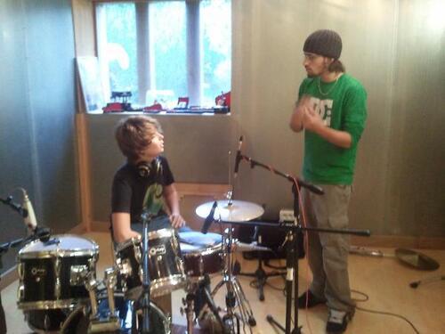 Premier enregistrement, hiver 2010