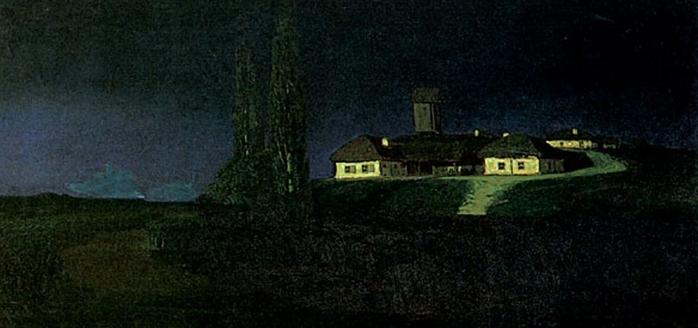 Nuit en Ukraine