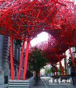 ARNE QUINZE,将放置于静安雕塑公园回廊, DESIGNER BELGE, MONS 2015