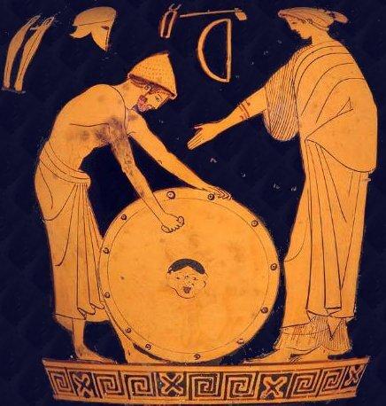 Thétis et Héphaïstos