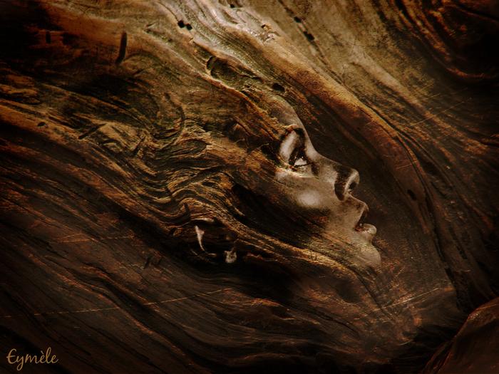 Femme sculptée