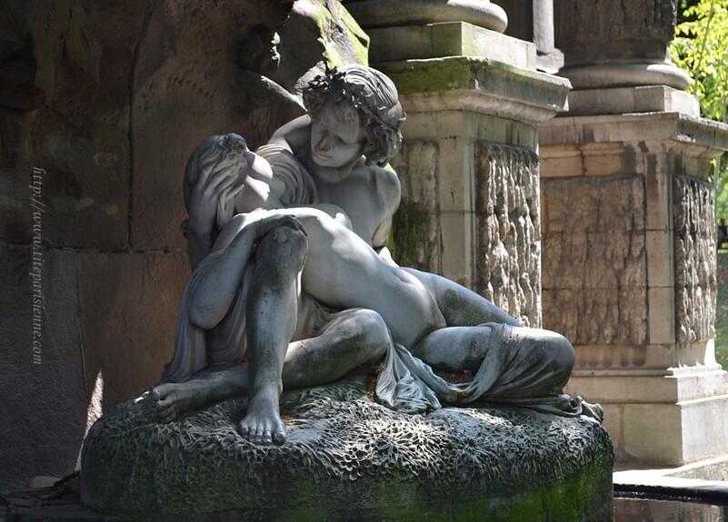Jardin du Luxembourg : La Fontaine Médicis