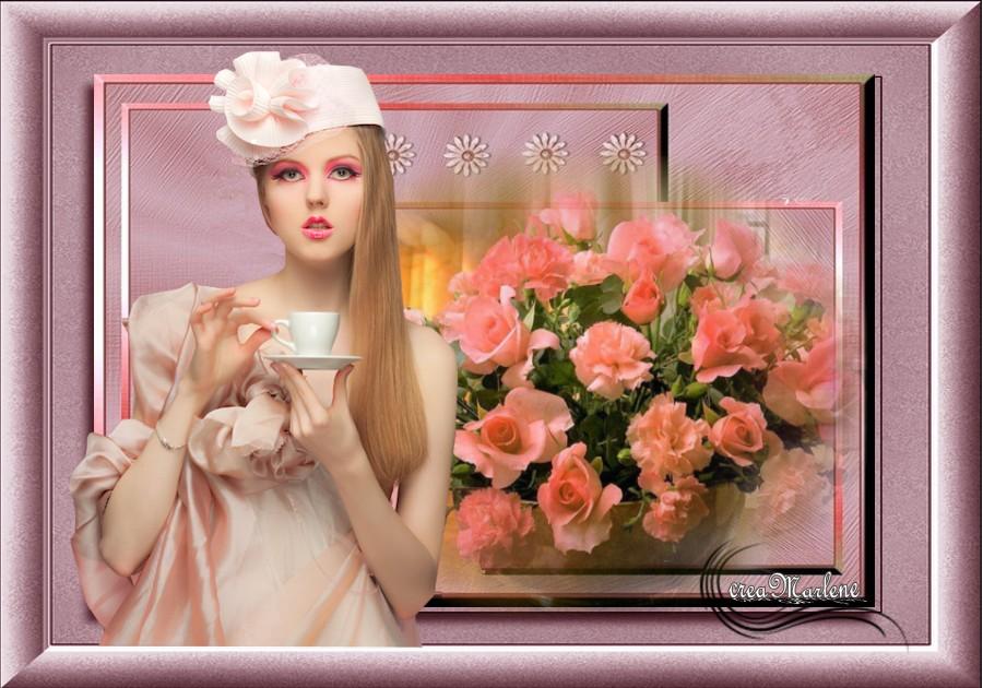 ♥ La vase des roses ♥