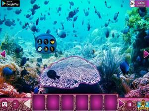 Jouer à Underwater lionfish escape