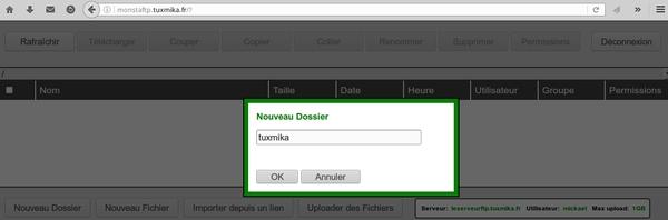Installer Monsta FTP sur Debian Jessie