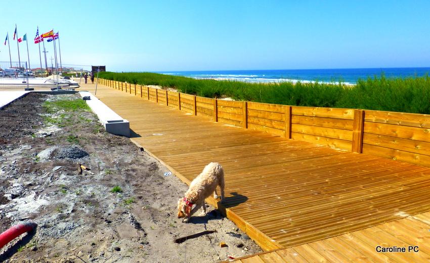La plage et la Place de la Garluche