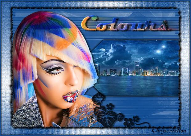 La femme colorée