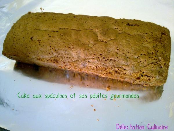 Cake aux spéculoos et ses pépites gourmandes