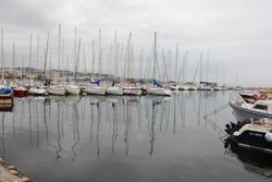 Port de plaisance sur l'étang de Berre