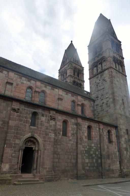 Sélestat: église Ste Foy