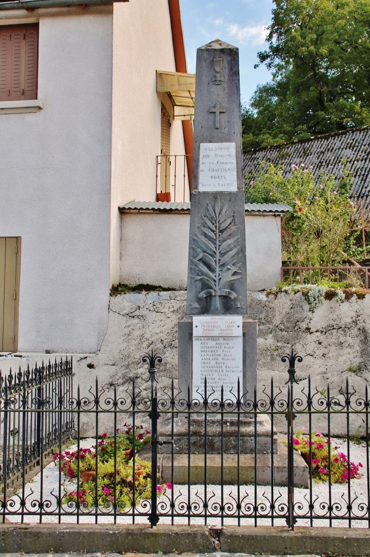 Monument-aux-Morts - Chalvignac