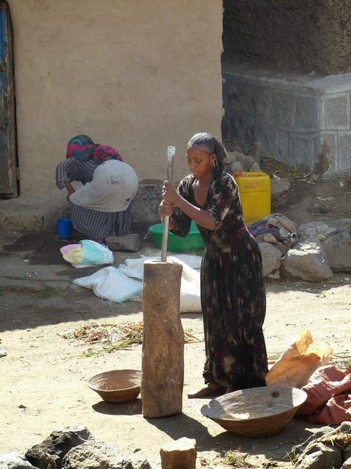 la vie dans les villages