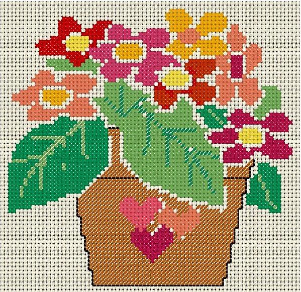pot de fleurs 1