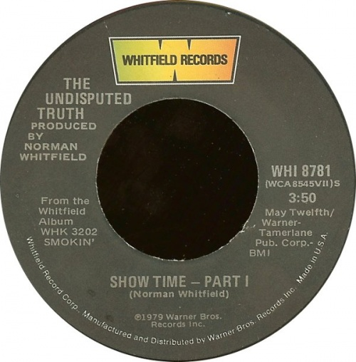 1979 : Single SP Whitfield Records WHI 8781 [ US ]