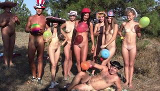 Candid-HD. 3D Nudist Adventure.