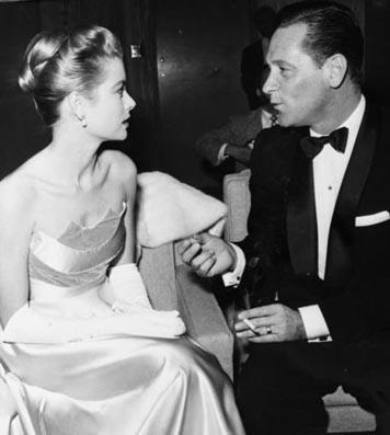 Grace Kelly and William Holden.