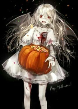 anime Halloween themed...: