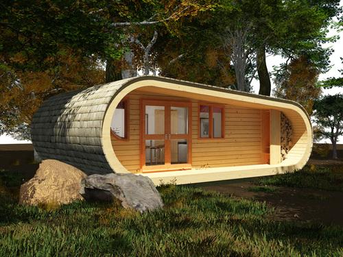 Olivia's log cabin