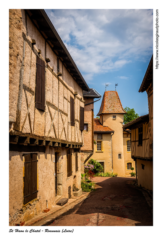 Le Crozet et St Haon le Chatel en Roannais