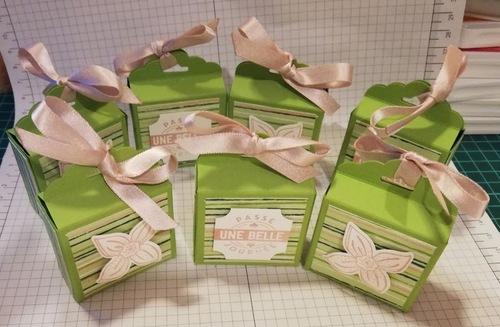atelier chez Odette : cadeaux pour les participantes.....