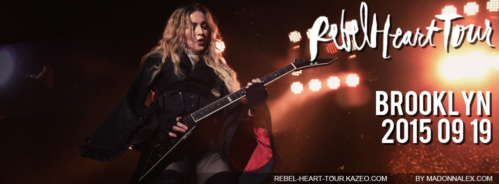 Madonna Rebel Heart Tour Brooklyn