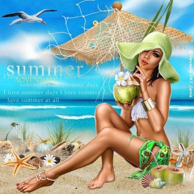 I love summer day