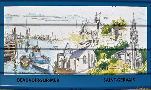 Photos du château d'eau de Kulmino (Vendée)