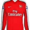 William GALLAS : Maillot porté ARSENAL en 2009.2010.