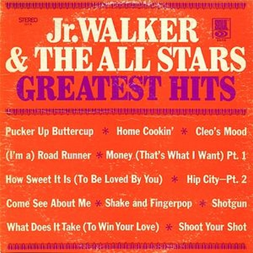 "Jr. Walker & The All Stars : Album "" Greatest Hits "" Soul Records SS 718 [ US ]"